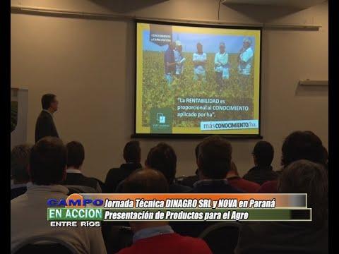 Mauro Piva - Titular Laboratorio NOVA - Jornada Técnica DINAGRO - NOVA en Paraná