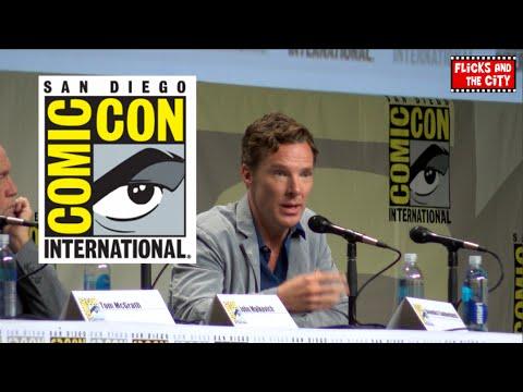 Benedict Cumberbatch Comic Con Interview - Sherlock Season 4, Doctor Strange, Penguins of Madagascar
