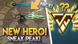 Vainglory News [Update 3.4] - NEW HERO SNEAK PEAK! [Kinetic?]