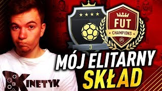 Mój ELITARNY SKŁAD + WŁASNA TAKTYKA | FIFA 19