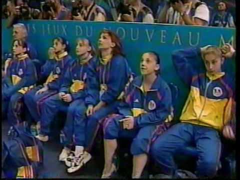 2000 Sydney Olympics - Women's Team Final Part 11