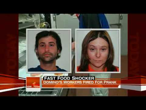 Dominos Pizza on the Today Show - Workers fired for Dominos prank video.