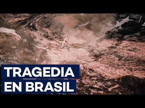 El colapso de una presa en Brasil deja varios muertos