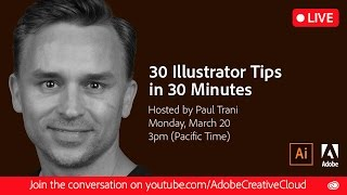 30 Illustrator Tips in 30 Minutes | #Ai30th