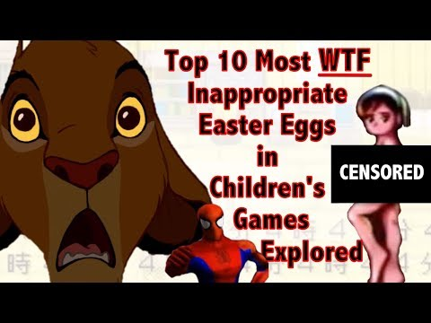 Shocking Easter Eggs in Kid Games Analyzed & Ranked
