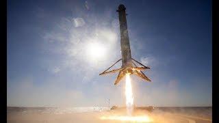 スペースロケット着陸の瞬間をとらえた映像 thumbnail