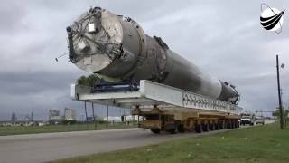 SpaceX New Transporter - JCSAT-16 - 08-24-2016