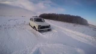 Нива 4x4 Бездорожье 2016 Снег(Для первого раза не плохо,дальше больше), 2016-12-02T10:50:43.000Z)