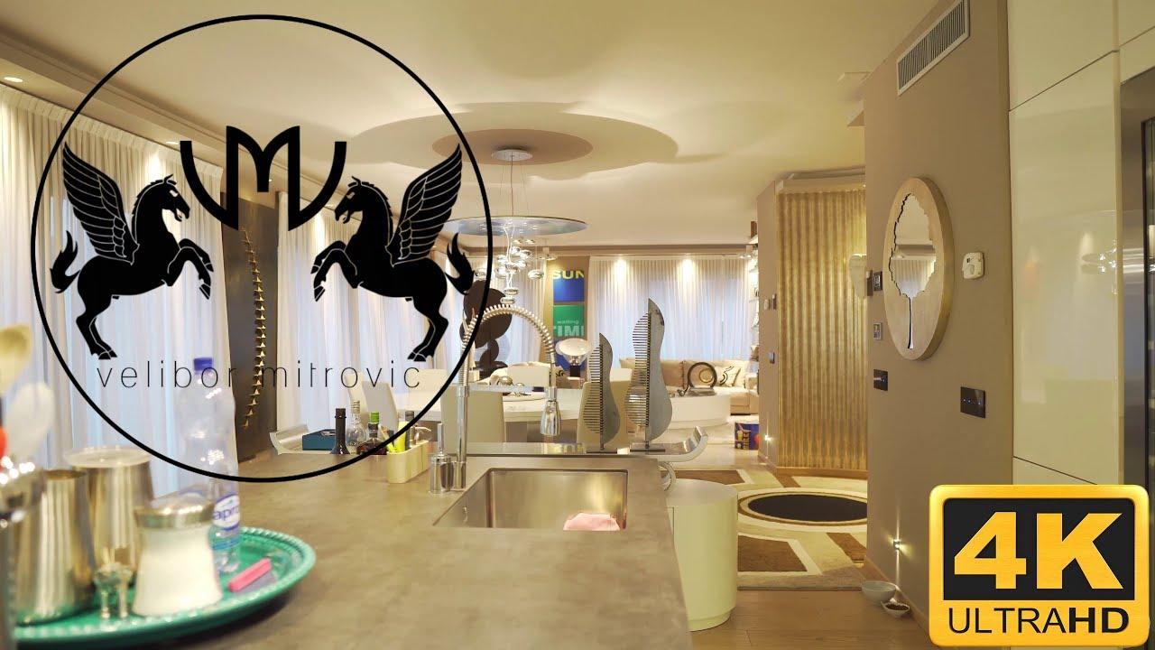 Interni Case Di Lusso Foto 🔥modern luxury apartment - moderno attico di lusso - lugano -  switzerland🇨🇭 - 4k