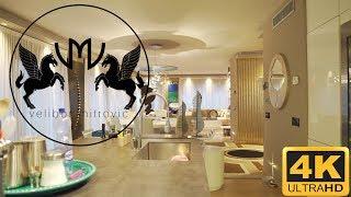 🔥Modern luxury apartment - Moderno attico di lusso - Lugano - Switzerland🇨🇭 - 4K