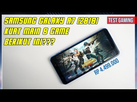Samsung Galaxy A7 2018 Gaming Test