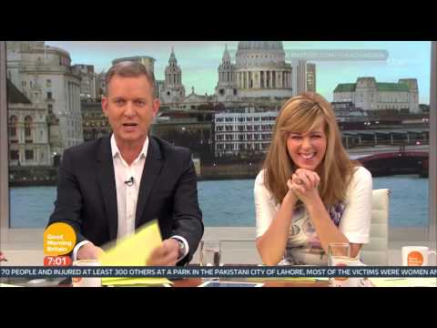 [HD] Good Morning Britain with Jeremy Kyle: Monday 28 March 2016