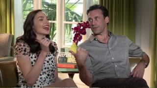 Jon Hamm and Gal Gadot exclusive interview for Keeping Up With The Joneses: We can keep Secrets.