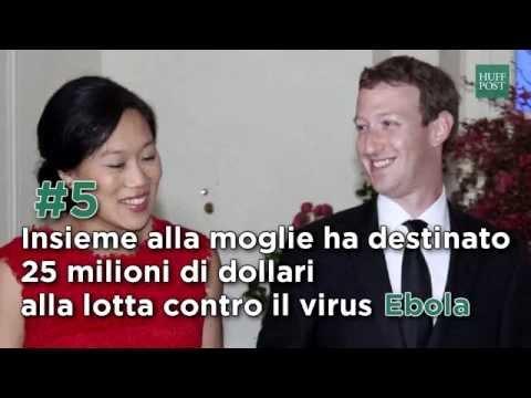 Le 7 buone azioni di Mark Zuckerberg (e di sua moglie Priscilla)