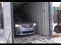 Автоаукционы Японии - выгрузка из контейнера 4 авто Токидоки