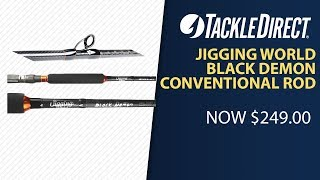 Jigging World Medium Black Demon BD7.5M 7 ft 5 in Medium Conventional Rod