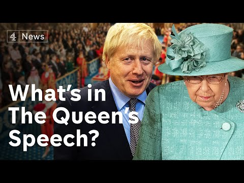 Boris Johnson's 'blueprint for the future of Britain': Queen opens parliament | Brexit