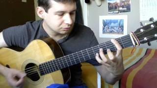Ah Ha - Take on me - acoustic guitar cover