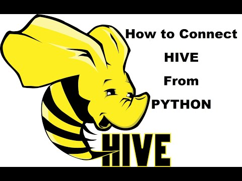 How to Connect Hive from Python