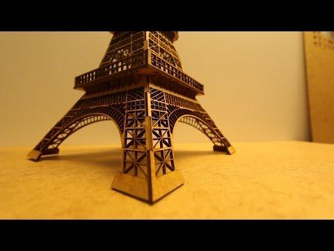 Montagem Torre Eiffel 57 cm - Corte a laser - 3D Criativo