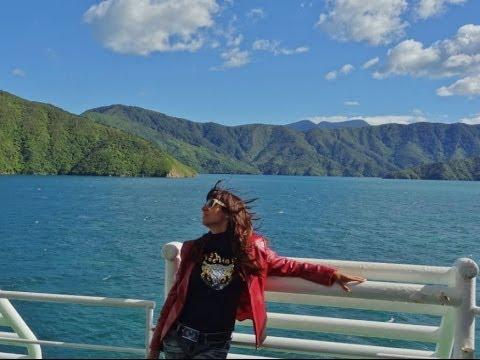 New Zealand. Amazing Cook Strait and Bluebridge Ferry