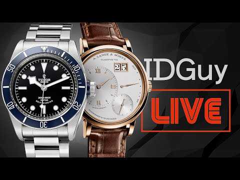 An Insane Collection Of Audience Watches & Wrist-Shots - IDGuy Live