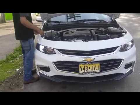 Chevrolet Malibu 2017 Lt How To Install Change Headlight