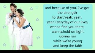 Everyday - karaoke - high school musical2