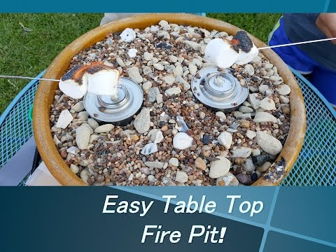 Easy Outdoor Fire Pit DIY for $20!