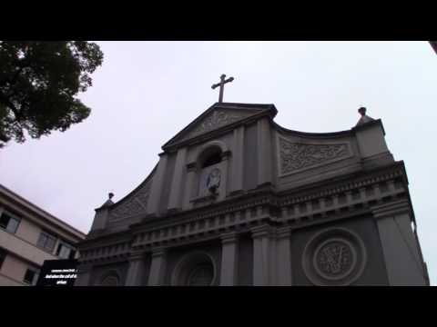 The Immaculate Conception Catholic Church in Hangzhou, China (MVI 0135)