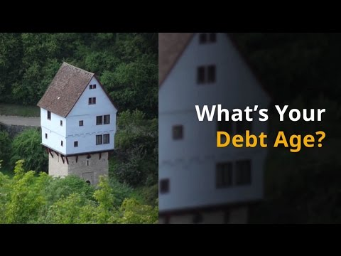 What's Your Debt Age? Newcastle Financial Planning