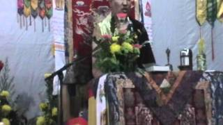 Ven.Monlam Rinpoche recites Concise Sadhana of Chenreziq on 31.7.2011