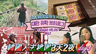 ????????대만여행 #타오위안 어디까지 가봤니? 韓國人去桃園3天2夜 Day3   대만 유학 일상 브이로그 : Vlog#43
