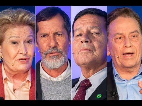Veja na íntegra o debate entre candidatos a vice-presidente da república
