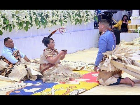 Tongan Wedding Kava - Tu'uholoaki & Lorraine Tu'ipulotu