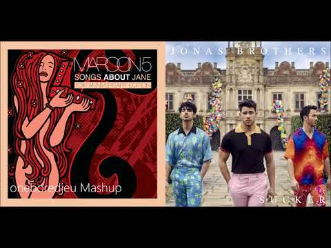 Harder To Suck - Maroon 5 Vs. Jonas Brothers (Mashup)