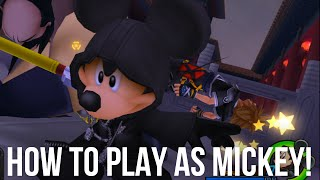 How to Play as Mickey in Kingdom Hearts 2
