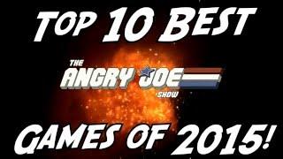 Top 10 BEST Games of 2015!