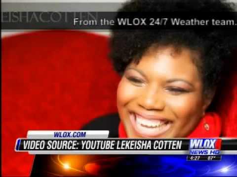 LeKeisha Cotten on wlox abc 4 o'clock show