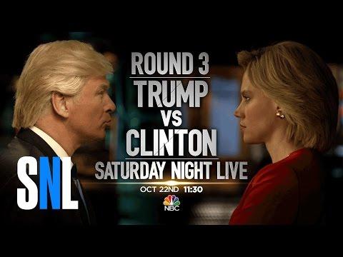 Trump vs. Clinton: Round 3 - SNL