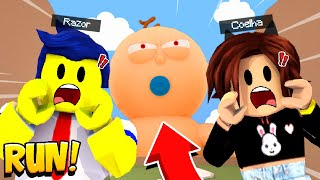 ESCAPE VON DER GIANT BABY HIGH IN ROBLOX