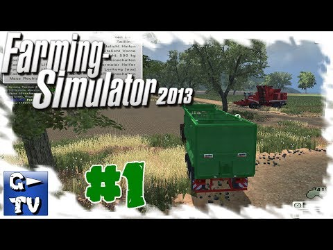 Farming Simulator 2013 #1 New Map New Project OGF America HD