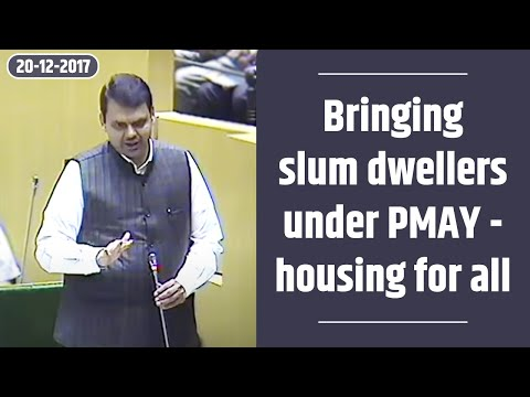 CM Shri Devendra Fadnavis on bringing slum dwellers under PMAY - housing for all