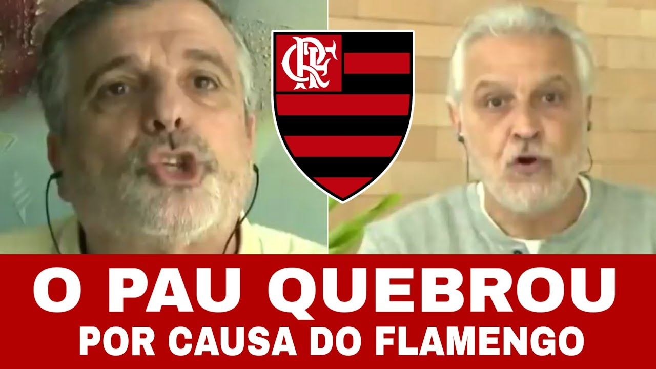 SORMANI E PASCOAL BRIGAM POR CAUSA DO FLAMENGO! SHOW DE HORROR!
