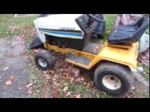 hqdefault 1980s cub cadet 1330 startup youtube cub cadet 1315 wiring diagram at bakdesigns.co