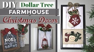 DIY Christmas Decor From $1 Photo Frames | Dollar Tree Farmhouse Christmas DIY Decor KraftsbyKatelyn