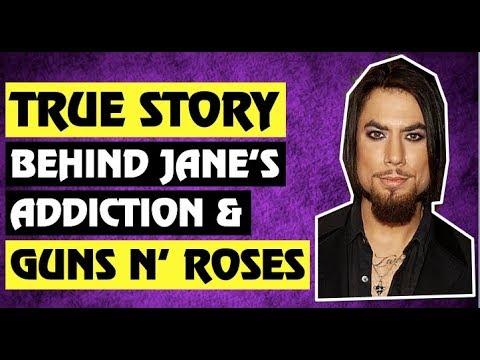 Guns N' Roses: True Story Behind Jane's Addiction and Guns N' Roses! Dave Navarro, Duff McKagan!