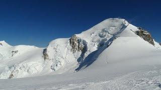 Mont Blanc 4810 m.