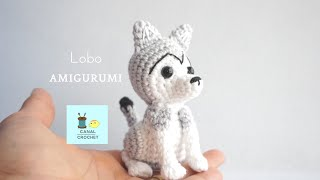Lobo amigurumi tutorial