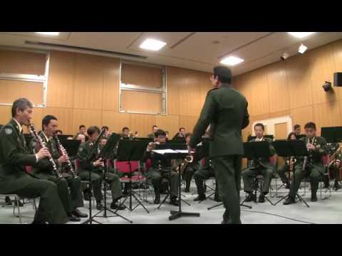 لا يفوتك رهيب  الفرقة  العسكرية اليابانية  التي لحنت اغنية كونان